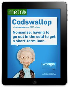 Did you know you can get a fast little loan without ever having to leave your home? >>http://www.wonga.com/