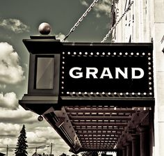 Catch a show at The Grand Theater in downtown Wausau. Repinned from Crystal Kuroski.