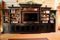 built in entertainment center..would rather same or a lil darker than the wall….I don't want the center to stand out…I want the items on it too…..