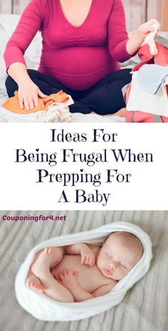 Ideas For Being Frugal When Prepping For A Baby - Having a baby is super exciting and also very expensive. But there are ways of cutting the costs! Here are some ideas for keeping your budget in check while preparing for the arrival of your baby.