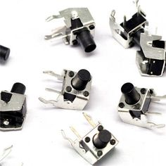 10PCS 6x6x9.0mm Right Angle 2 Pin Momentary Tactile Tact Push Button Switch #Affiliate