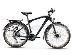 Rower BMW Trekking Bike, czarno-mosiężny, rozmiar L