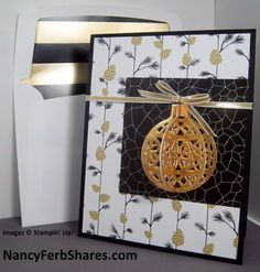 How to Make this 3-D Ornament Card-