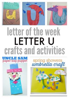 letter of the week u
