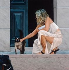 The Cat Lover by JIM FARRANT