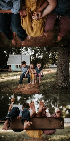 Children's photography with siblings. Family Portrait Poses, Family Picture Poses, Family Picture Outfits, Family Photo Sessions, Family Posing, Family Photoshoot Ideas, Family Picture Colors, Fall Family Portraits, Beach Portraits