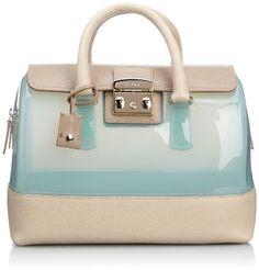 Furla Candy Vanilla Medium Satchel Handbag on shopstyle.com