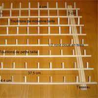 Porte-bobines en bois Tuto pour fabriquer - Loisirs créatifs