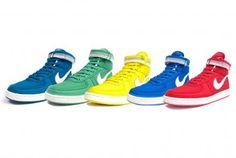 NIKE VANDAL HIGH SUPREME VINTAGE 5COLORS #sneaker