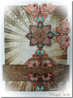 'Mir'acle Art Inspirations: Going Ornamental.......