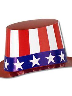 Halloween Uncle Sam Hi-hat