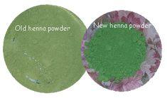 Old powder vs. new powder