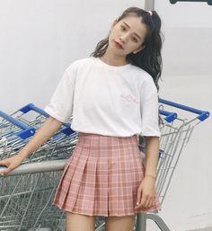 "Sweet tall waist pleated skirt Coupon code ""cutekawaii"" for 10% off"