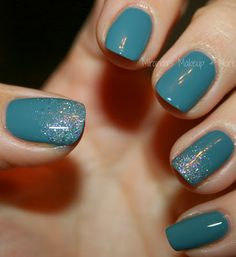 Julep Maven Mani ft Misti...Glitter makes everything better :)