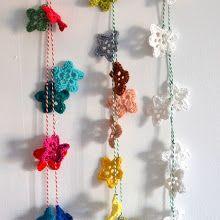DIY crochet stars