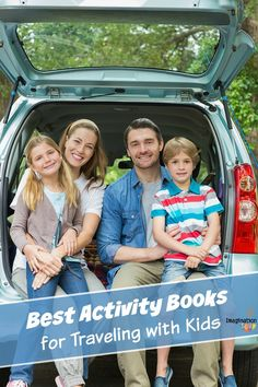 Best Activity Books for Traveling with Kids