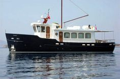 Atlantic Trawler conversion 66 yacht