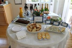 Appetizers for bridal shower