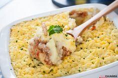 Receita de Empadão de atum com camarão. Descubra como cozinhar Empadão de atum com camarão de maneira prática e deliciosa com a Teleculinária!
