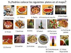 """mapa gastronómico de españa"""" - Pesquisa do Google"""