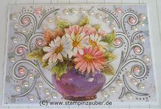 Perlenornamentkarte neutral von von Silvi Unabh. Stampin' Up! Demonstratorin  aus Jena Thüringen http://www.stampinzauber.de