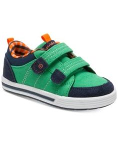 351efe2e1bcfe5 Stride Rite Logan Sneakers, Toddler Boys & Little Boys & Reviews - Kids'  Shoes - Kids - Macy's