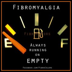 Fibromyalgia - Always running on empty.