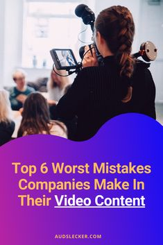 Video has been a buzzword for a while now. The hype is based in reality: video performs incredibly well. So why is nobody watching YOUR videos? You Videos, Mistakes, Digital Marketing, Content, How To Make