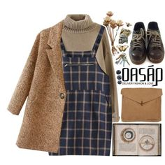 Cozy Winter by lsaroskyl on Polyvore featuring Dr. Martens...