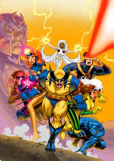 X-Men Animated Series | This was one of my favorite shows when I was a kid. This was what got me into comics stuff. I'm not really a comic book reader since it wasn't a thing where I come from but I really want to get into it. I may be too old for it but eventually I'll read comics.