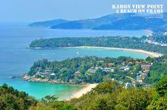 Karon, Katta, and Katto Noi beaches of Phuket, Thailand