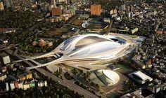 New National Stadium Japan Competition Unveils 11 Finalists  Zaha Hadid Architects