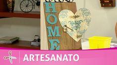Santa Receita   Estamparia decorativa em madeira por Adriana Moura - 29 ...