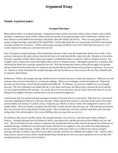 Sample college persuasive essay