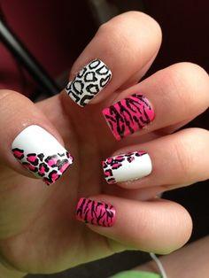 Print #nail art #nails www.finditforweddings.com