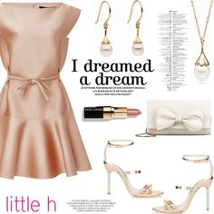 Dreams by Little h Jewelry by littlehjewelry on Polyvore featuring Paule Ka, Sophia Webster, RED Valentino, Bobbi Brown Cosmetics, women's clothing, women's fashion, women, female, woman and misses