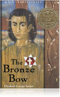 The Bronze Bow. Creating an epilogue for this book for Challenge A. Terribly hard because I can't just write 5 or 6 pages!