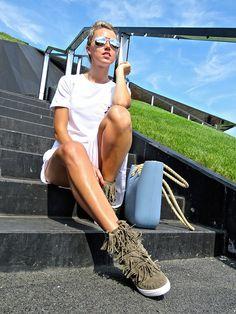 SNEAKERS SUEDE FRINGE TRAINERS WEDGES  http://elikshoe.pl/product-eng-379-SNEAKERS-SUEDE-fringe-trainers-wedges.html #elikshoe #ewelina_bednarz #kolekcjonerka_butow #shoes #buty