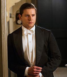 Allen Leech Tom Branson Downton Abbey ..series 6 promotional images ..