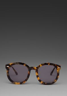 Karen Walker Super Duper Strength in Crazy Tort. Someone came into the salon wearing these today and I fell in love!