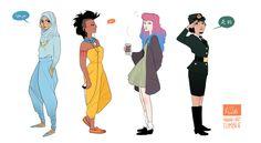 modern disney princess - Pesquisa Google