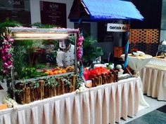 Catering: Orange Clove Catering Pte Ltd | Request a quote for your next event or party at Drawing Board Events today!