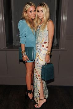 Mary-Kate and Ashley Olsen at Barney's New York dinner for The Row