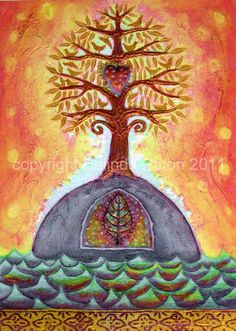 Heart Tree ~ by Belinda Paton