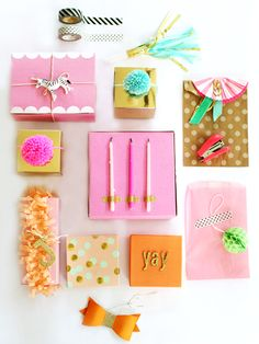 simple pretty packaging