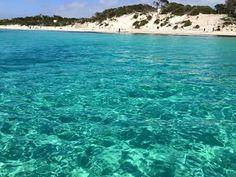 Playa de es carbò Colonia de sant jordi Mallorca