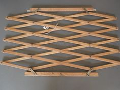 Wood Child gate Decorative Wall Decor Grid Rustic by GUTTERSNIPES