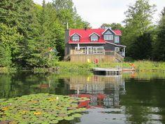 Lake house is really beautiful