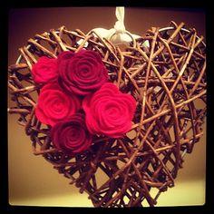 Rosas de fieltro (L)