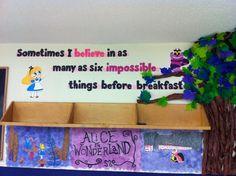 English Classroom Decor, Classroom Wall Decor, Classroom Walls, New Classroom, Classroom Design, Classroom Displays, Classroom Themes, Dorm Themes, Disney Classroom